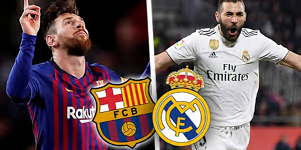 Offre spéciale Match Clasico   Real Madrid / FC Barcelone