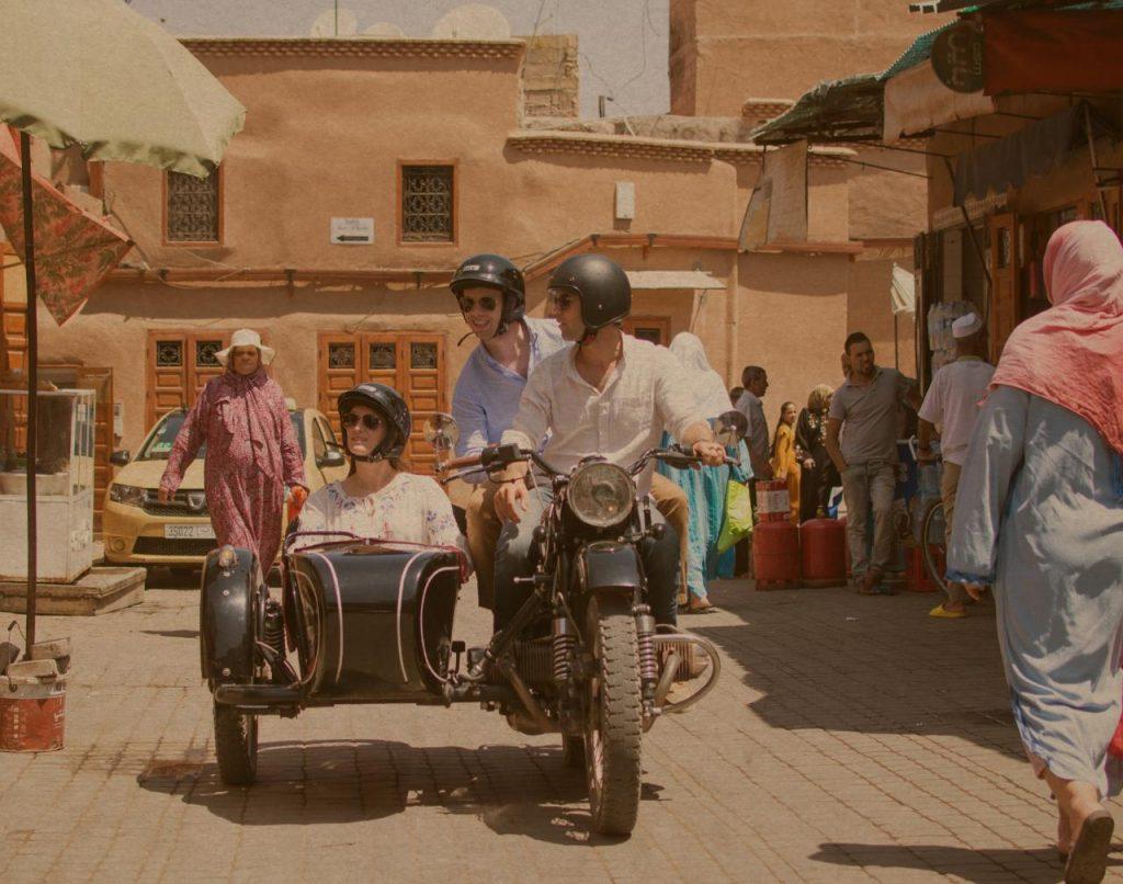Side-car à Marrakech