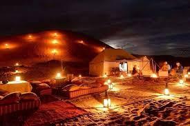 Nuit dans le désert