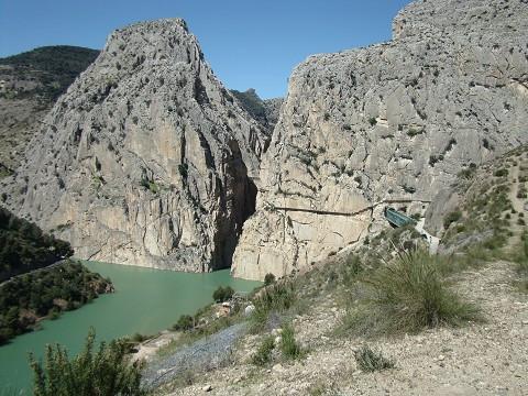 Sentier de sortie El Chorro