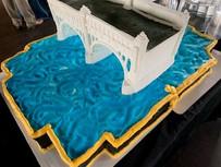Susquehanna Heritage Bridge Logo Cake