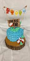 1st Birthday Themed Cake