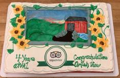 AmishView Inn Tripadvisor Cake