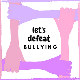 lets defeat bullying logo (black text) (
