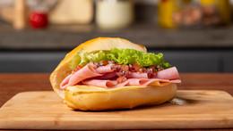 Sanduíche de Presunto Rosfrios