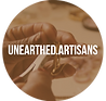 Unearthed Artisans.Logo.White Centered T