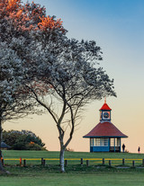 Frinton Clock Tower at Sunset