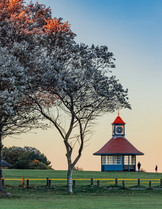 Frinton Clock Tower at Sunset