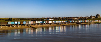 Beach hut Reflections, Frinton on Sea, Essex