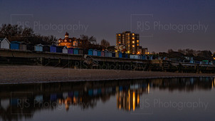 Frinton Beach at Twilight