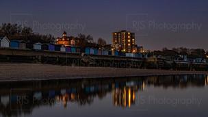 Frinton Beach at Twilight