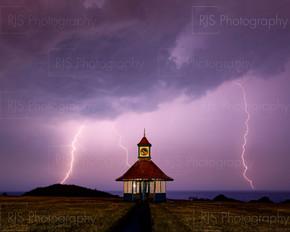 Frinton Clock Tower Lightning -9524-2.jp