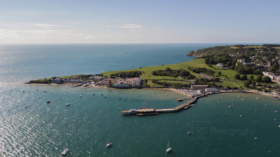 Swanage Pier and Peveril point