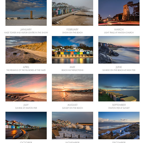 Photographic Prints from the 2022 Walton Calendar
