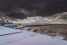 Walton Pier In the Snow