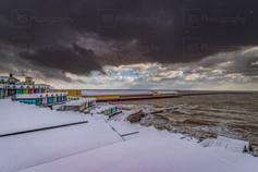 Walton Pier In the Snow
