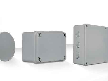 AVE --- Scatole di derivazione da parete SD & SDL IP44 e IP65: massima protezione contro acqua e pol