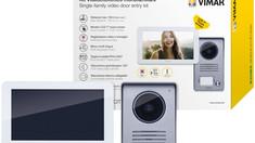 VIMAR --- Kit videocitofonici smart.Scopri chi suona alla porta direttamente dal tuo smartphone.