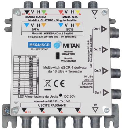 MITAN --- impianti multiswitch sempre più digitali con tecnologia dSCR