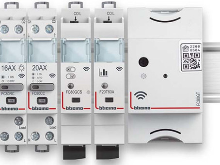 BTICINO --- Rendere il quadro elettrico Smart con BTDIN with Netatmo