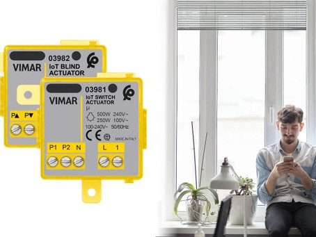 VIMAR --- La serie di dispositivi connessi si amplia con tre nuovi prodotti