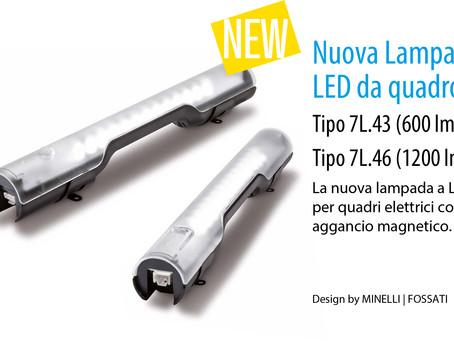 FINDER --- La nuova lampada LED per quadri elettrici