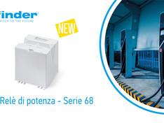 FINDER ---  nuovo relè di potenza Serie 68 da 100A