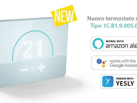 FINDER --- Bliss 2: il nuovo termostato smart integrato con YESLY