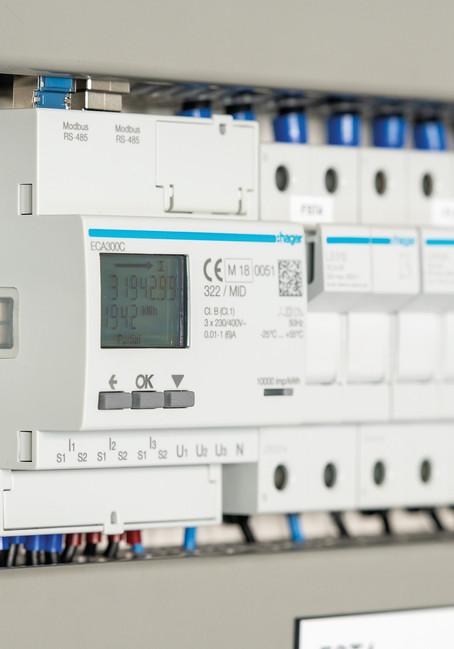 HAGER BOCCHIOTTI --- Ecobonus 110% nuovi Contatori per misurare smart l'energia