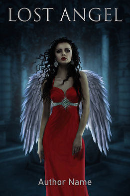 Lost Angel Premade Mystery Romance Book Cover