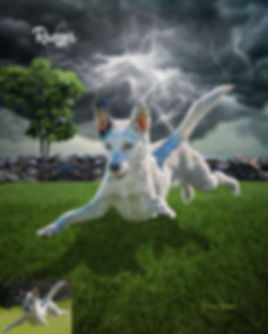 Thunder Alley Custom Pet Portrait