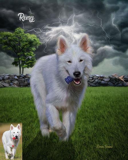 Thunder Alley Custom Pet Portrait
