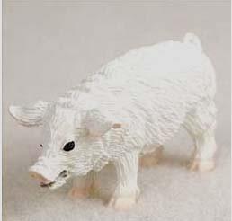 Pig Figurine For Farm Wedding Cake Topper