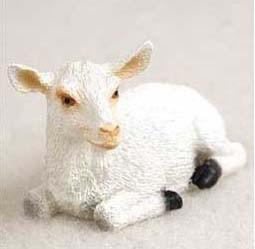Goat Figurine For Farm Wedding Cake Topper