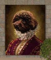 Duchess Lydia Period Style Custom Pet Portrait Painting