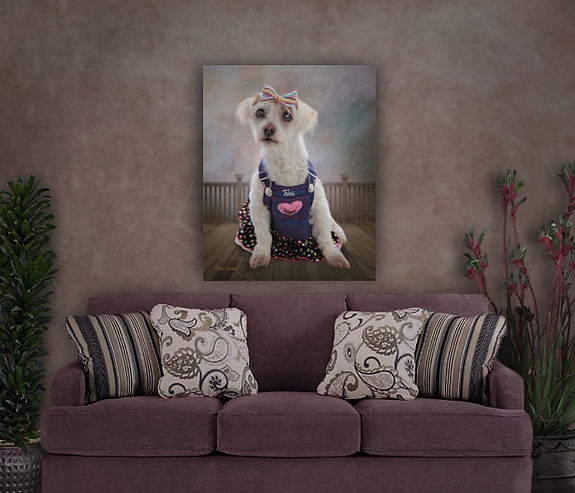 Custom Pet Portrait Painting From YOUR P