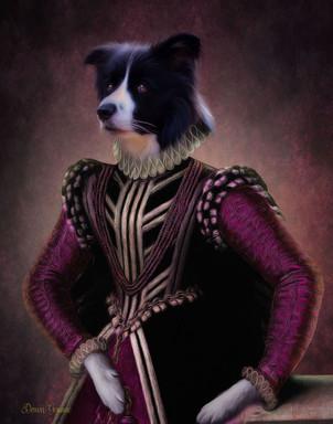 Countess Rose Custom Period Style Pet Po