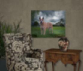 Country Castle Custom Pet Portrait Paint