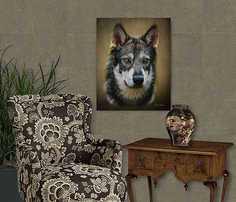 Bronze Glow Custom Digital Oils Pet Port