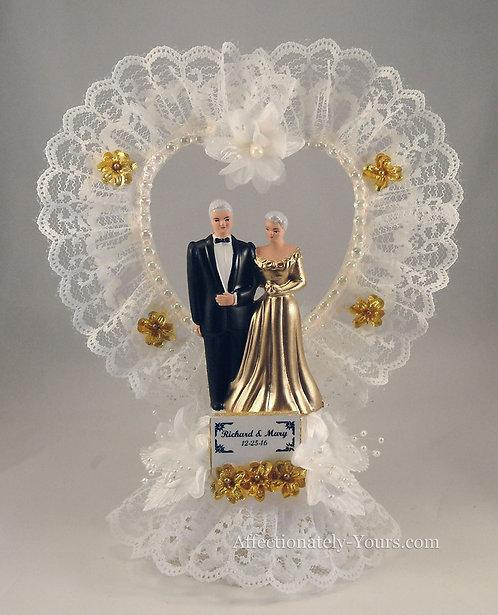 Celebrations Anniversary Customized Cake Topper