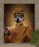 Prince James Period Style Custom Pet Portrait Painting