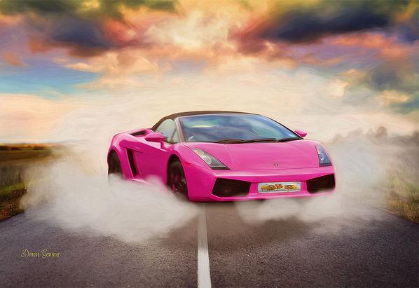 Porsche Sports Car Fantasy Artwork