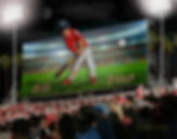 Pop Out Billboard Custom Baseball Portra