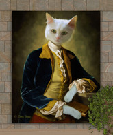 Sir George Period Style Custom Pet Portrait Painting