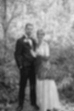 Black White Wedding Portrait Before Phot