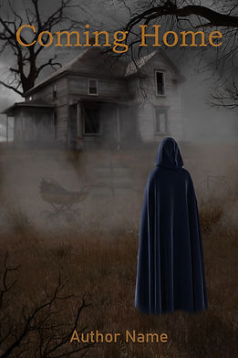 Coming Home Premade Mystery Book Cover