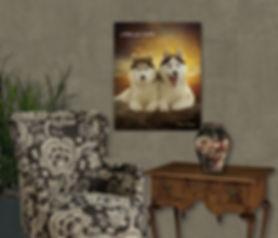 Custom Dog Cat Horse Oil Painting