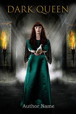 Dark Queen Premade Mystery Romance Book Cover