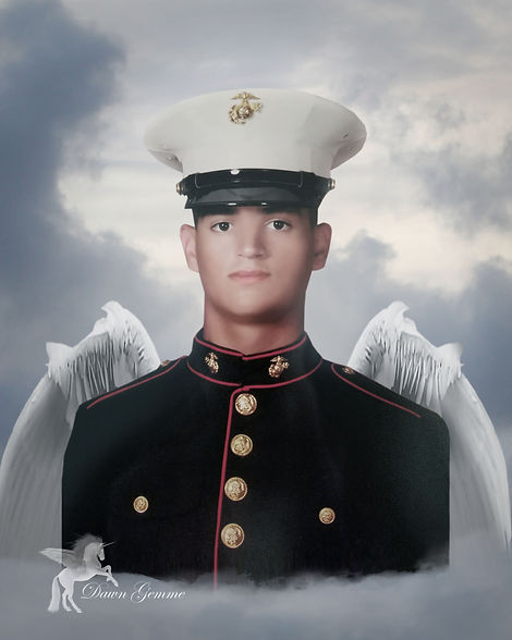 Custom Memorial Angel Portrait