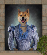 Lady Windsor Period Style Custom Pet Portrait Painting